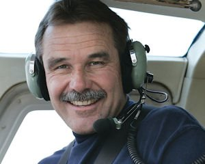 Flying: Chuck Street says helicopter pilots respond to noise complaints.