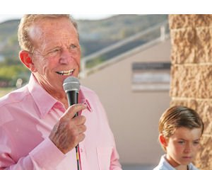 Speaking: Bob Eubanks gives 30 to 40 speeches a year around the country.