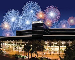 Hilton Anaheim: 1,572 rooms, most in OC