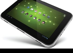 Toshiba tablet: promoted in YouTube campaign targeting students