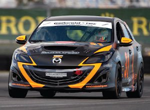 Race ready: Mazda competes in more than 200 events a year