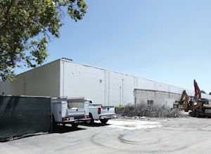 Construction: Building to make way for new industrial space