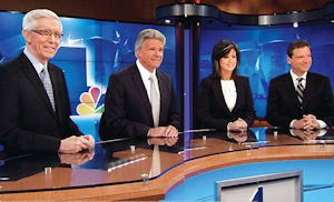News: The Emmy-winning 11 p.m. team of NBC4 Southern California in Burbank.