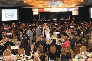 Full house: event drew nearly 500 to ballroom at Hyatt Regency Irvine