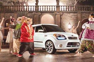 Kia hamsters: part of campaign for Kia Soul