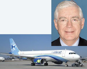 "Garza (inset): ""route with no ethnic component would be risky""; Interjet Airbus A320: in service from JWA to Mexico"