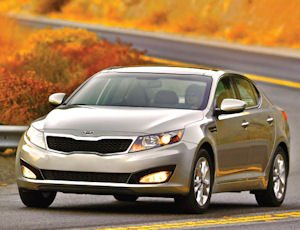 Kia Optima: Robust sales of the automaker's mid-sized sedan helped it to year-to-year 35% rise in sales for September