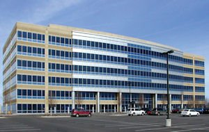 Parkridge 4: six-story, 192,800-square-foot office building in Lone Tree, Colo.