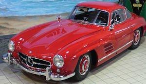 1956 Mercedes-Benz 300SL Gullwing: part of fund's portfolio