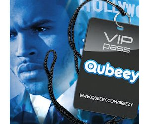 Early Adopter: Chris Brown in Qubeey promotion.