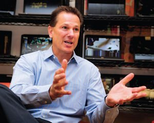 Thinking Global: Steve DeGennaro, CFO and co-founder of Xirrus, at the company's headquarters in Thousand Oaks.
