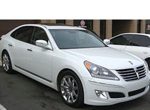 Hyundai Equus: among vehicles likely to get Broadcom-facilitated special features