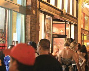 American Barber Shop: among stops on monthly art walk