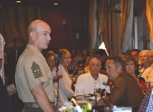 Sgt. Maj. Cully: American Heroes Tribute event guest of honor, keynoter