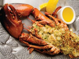 Bluewater Grill: stuffed lobster