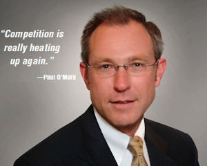 Paul O'Mara, senior vice president, Wells Fargo Bank in Irvine, head of commercial banking unit, Wells Fargo Bank in San Francisco