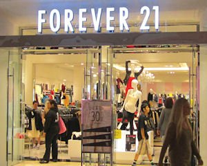 Brea Mall: Forever 21 opened in September