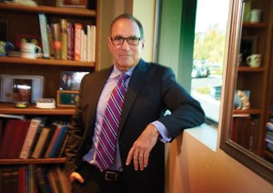 Michael Mantell, a corporate psychologist with a private practice in La Mesa, specializes in stress prevention, rather than stress management. Mantell says downsizing and the protracted recession have created intense employee stress, which leads to increased costs to the employer from diminished productivity.