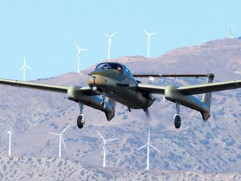 Photo courtesy of Northrop Grumman Corp.  Northrop Grumman has made its first sale in the optionally piloted aircraft systems, OPAS, market with its Firebird aircraft. The aircraft can serve as a spy plane, and it can carry weapons.