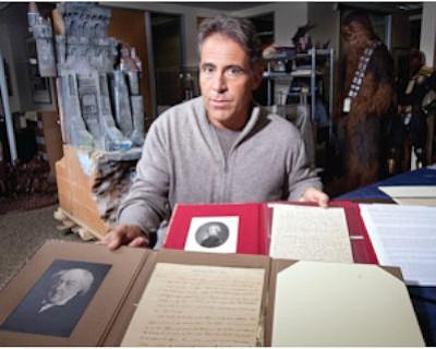 Literary History: Profiles in History's Joe Maddalena with letters by John Adams.