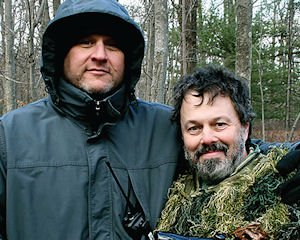 """In the Clear: John Putch with actor Curtis Armstrong of """"Route 30, Too."""""""