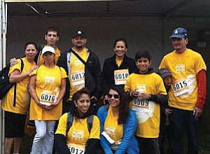 United Way Campaign: The ACCO team at 5K walk.