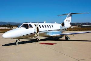 High Flyin': Channel Islands Aviation's Cessna Citation CJ3.