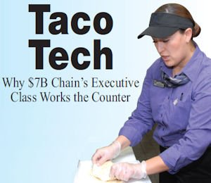 Tustin trainer: Adriana Jimenez, general manager of the Taco Bell at The Market Place, has tutored more than a dozen executives from headquarters