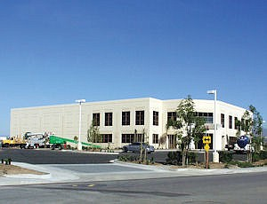 Vizio's HQ in Irvine: company designs here, contracts production in China