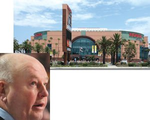 Boudreau: head coach subject of post-strike Facebook quiz that offered prizes to fans.  Honda Center: likely to host first home game for Ducks next week