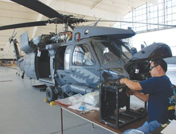 The Navy recently broke ground on a new hangar at the Fleet Readiness Center Southwest where it plans to work on H-60 Seahawk and CH-53 Super Stallion helicopters.