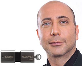 New drive: initial aim for business market at $2,000 apiece.  Emami: Kingston hired Berlin-based designer for its 1-terabyte flash drive
