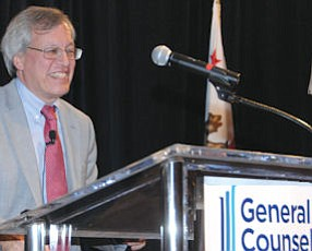 Chemerinsky: announced plans to start certificate programs at Business Journal's 2012 General Counsel of Year Awards