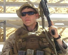 Williams: returned from tour with Marines in Iraq with new sense of purpose
