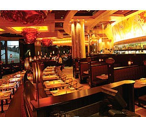 Calabasas: Interior of new Cheesecake Factory in Dubai's Mall of the Emirates.