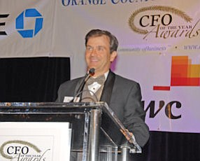 Murray Rudin: Master of Ceremonies at the Business Journal's seventh annual CFO of the Year Awards in Irvine on Jan. 29