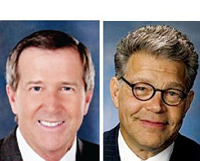 Campbell, Franken: both represent centers of medical device industry