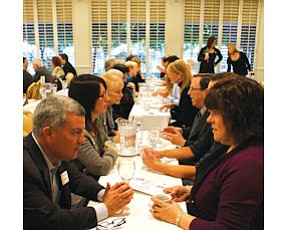 Networking: Event held by the Greater Conejo Valley Chamber.