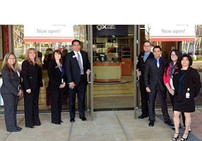 Grand Opening: Logix Federal Credit Union branch in Simi Valley.