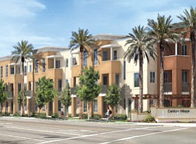 Century Village: 53-unit townhome project by Brandywine Homes in Garden Grove is sold out as construction wraps up