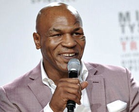 Mike Tyson: in one-man show at City National Grove of Anaheim on March 6