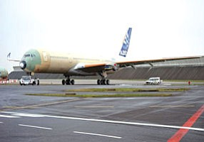 A350 XWB: Rockwell's OC center also provides communications for aircraft, which are assembled