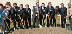 Official start: CJ Foods executives, officials of South Korea, city of Fullerton