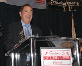 Sheldon Razin: keynote speaker at the Business Journal's Excellence in Entrepreneurship Awards in Irvine on March 20
