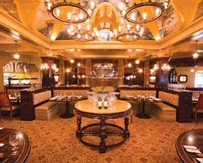 Carthay Circle Restaurant: on second floor of Disney's reproduction of the Carthay Circle Theatre