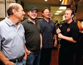 Founders Irv Zuckerman, Jeff Zuckerman, Rodney Eckerman and Nicholas Eckerman.