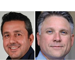 Gallegos: agency saw big billings increase (left).  Rieches: adding staff in Irvine, New York