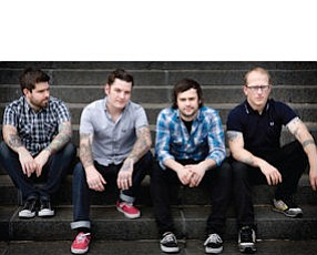 Senses Fail: performing at the House of Blues in Anaheim on April 20