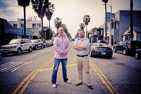 Bitium founders Scott Kriz, left, and Erik Gustavson, right. Photo courtesy of Bitium.