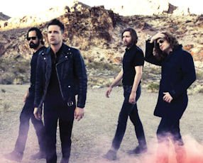 The Killers: performing at the Honda Center in Anaheim at 8 p.m. on May 1